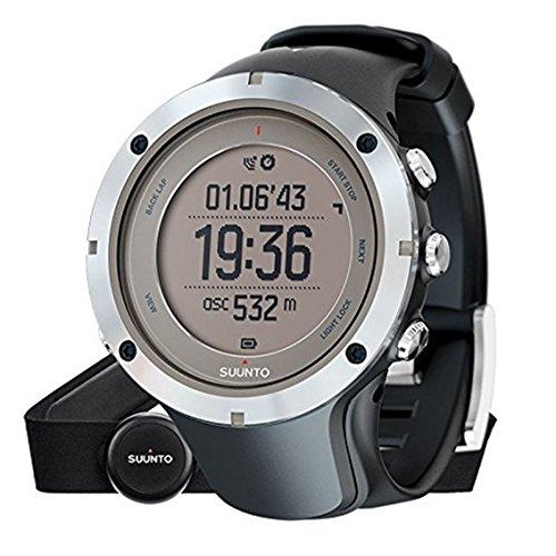 スント(SUUNTO) 腕時計 アンビット3 ピーク HR サファイア 10気圧防水 GPS 心拍/気圧/高度/方位/速度/距離計測 [日本正規品 メーカー保証2年] SS020673000