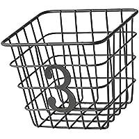 D DOLITY メッシュ 収納バスケット オーガナイザー キッチン ベッドルーム バスルーム 収納用品 全2種  - 平方
