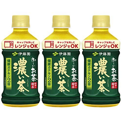 伊藤園 レンジ加温可 おーいお茶 濃い茶 345ml 1セット(48本)