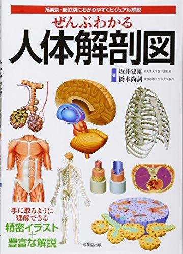 ぜんぶわかる人体解剖図―系統別・部位別にわかりやすくビジュアル解説の詳細を見る