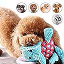 「All4pets」犬用噛むおもちゃ 歯磨きぬいぐるみ 運動不足/寂しさ/ストレス解消 お誕生日プレゼント 赠り物 発声装置搭載象ちゃん