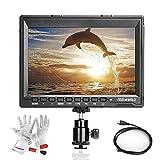 Feelworld FW759P 7 インチ 超HD1280x800高解像度IPS ビデオカメラフィールドモニター  ピーク値ハイライトフォーカスアシスト機能 BMPCC 5D2 5D3 7D 60D 550D D7000 D800 D90 A7S FS7 GH4などに対応