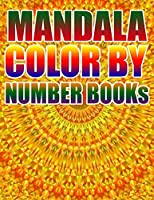 MANDALA COLOR BY NUMBER BOOKS: KIDS AND ADULTS