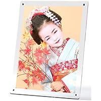 壁掛け 卓上 縦 横 マグパチ フォトフレーム アクリル 日本製 A3判 写真立て ポスターフレーム 017-0000