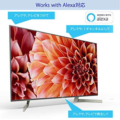 ソニーSONY55V型液晶テレビブラビア4KAndroidTV機能搭載WorkswithAlexa対応2018年モデルKJ-55X9000F