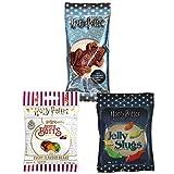 Harry Potter Candy Lover's Pack - Bertie Botts/Chocolate Frog/Jelly Slugs ハリー?ポッターキャンディバラエティーパックは - バーティボッツ、チョコレートカエル、ゼリーナメクジが含まれています
