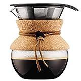 ボダム bodumプアオーバードリップ式 コーヒーメーカー 0.5L(ギフト仕様) 11592-109GB 0699965400811