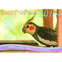 コンパニオンバード インコ 鳥A4写真カレンダー2014~うつくしいとり かわいいインコ・オウム