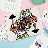 新しいiPad mini4 ケース おしゃれ 手帳型 横開き スマートカバー チェック 切り替え (ipad mini4)フレームアートワークなしでギャンブルポーカーカードゲームレジャーテーマをプレイするクラブの王
