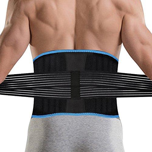 父の日 ギフト DBPOWER 腰痛ベルト 腰サポーター 腰痛 コルセット 腰椎固定や保護 ヘルニア 姿勢矯正 加圧 伸縮 通気 お腹 引き締め 男女兼用