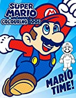 Super Mario Colouring Book: 50+ Illustrations Mario Brothers Coloring Books for Kids