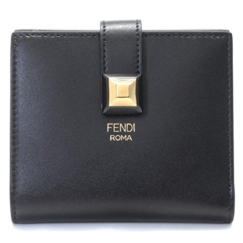 FENDI(フェンディ) 財布 レディース ミニ財布 二つ折り財布 8M0386 SWD F0E6E [並行輸入品]