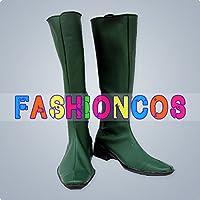 ★サイズ選択可★男性27.5CM UA0893 機動戦士ガンダムSEED Destiny キャラ コスプレ靴(緑) ブーツ