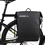 ROSWHEEL 自転車リアバッグ 全防水 20L リアサイドバッグ