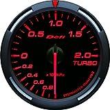 日本精機 Defi (デフィ) メーター【Racer Gauge】60φ ターボ計 (レッド) DF11505