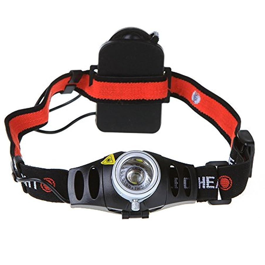 スクランブルプレミア限られたズーム可能な超高輝度500ルーメンCREE Q5 LEDヘッドライトヘッドライト,キャンプランプ/サイクリングランプ  充電ヘッド CNEC