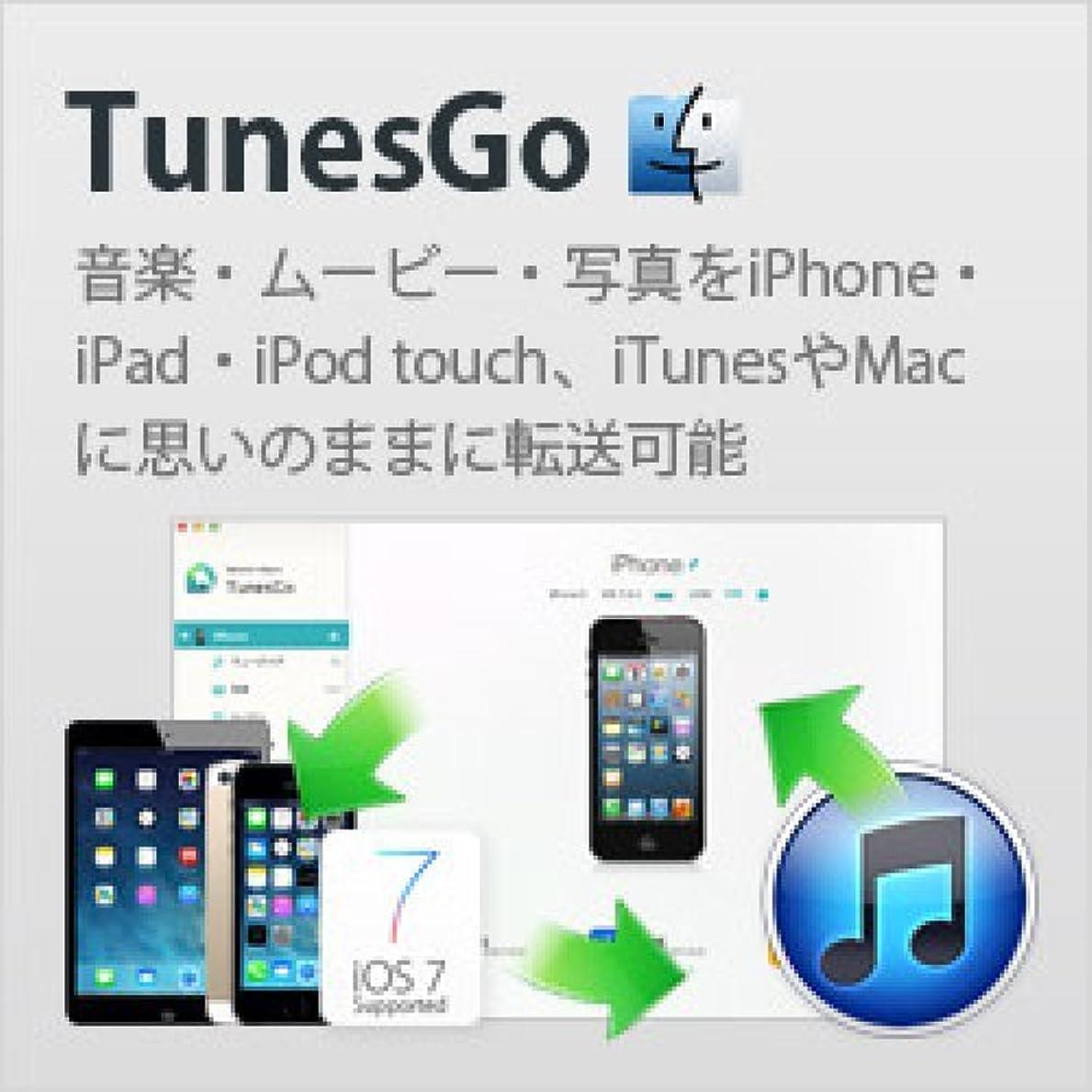 レンダリング送信するお互いWondershare TunesGo for iOS (Mac版) [ダウンロード]
