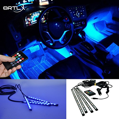 BRTLX RGB LEDテープライト 防水 音に反応サウン...