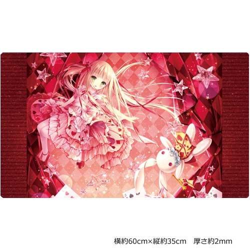 てぃんくる先生 Alice in Starry Sky World プレイマット 横約60cm×縦約35cm 厚さ2mm