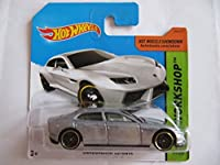 Hot Wheels - 2014 - Lamborghini在庫、銀(197)