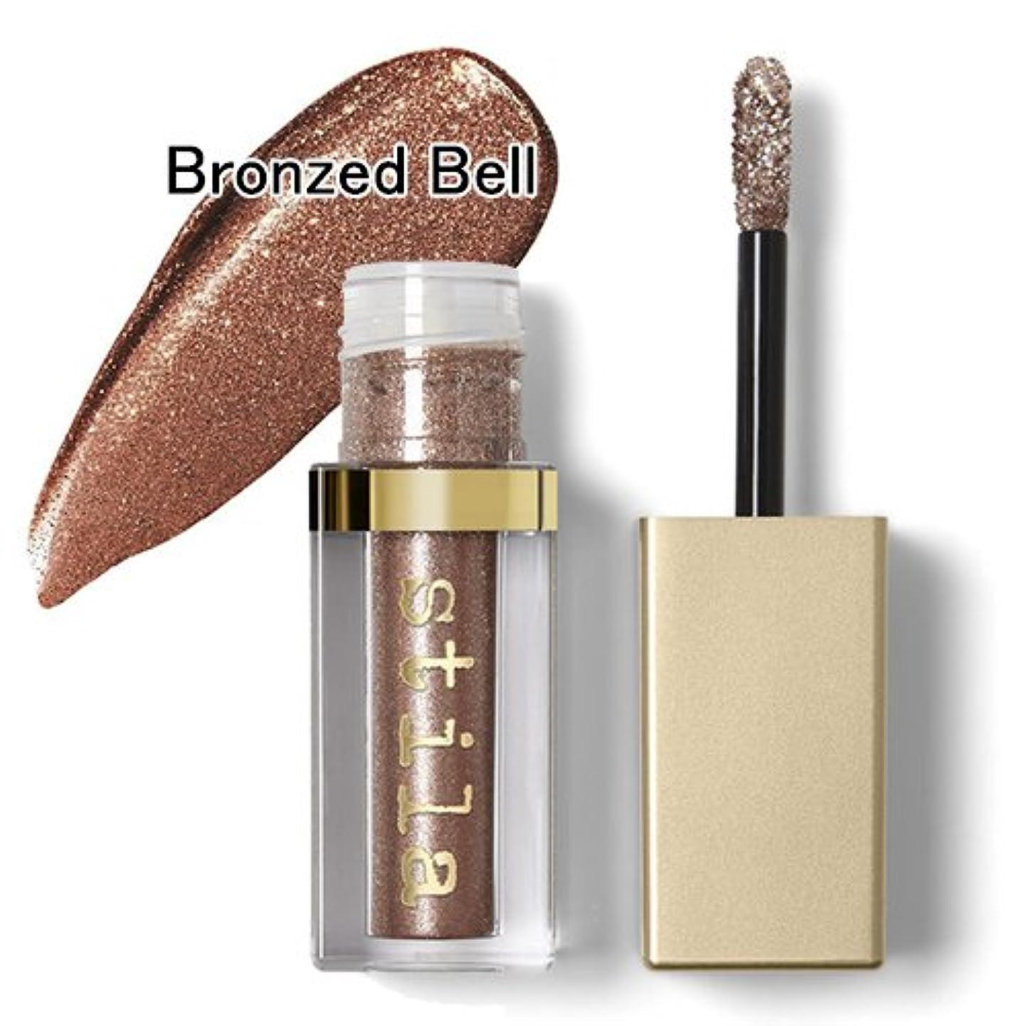 野なインクスイスティラ グリッター&グロウ リキッド アイシャドウ 4.5ml #Bronzed Bell Stila [並行輸入品]