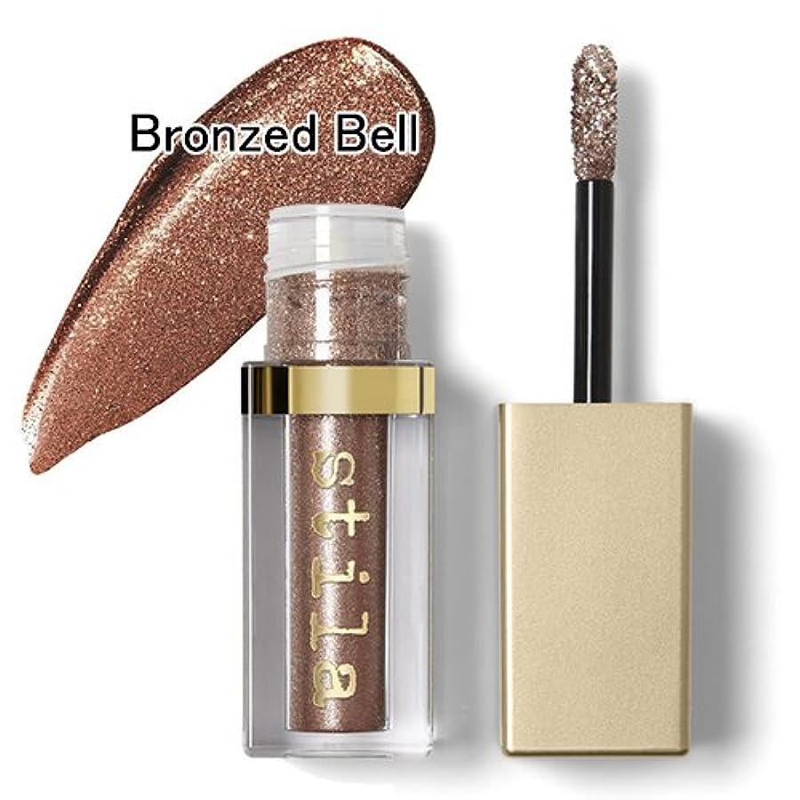 だらしないコンベンション未来スティラ グリッター&グロウ リキッド アイシャドウ 4.5ml #Bronzed Bell Stila [並行輸入品]