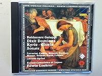 Galuppi;Dixit Dominus/Sonata a