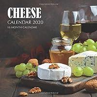 Cheese Calendar 2020: 16 Month Calendar