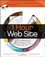 1 Hour Web Site: 120 Professional Templates and Skins (Bible)
