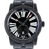 ロジェ・デュブイ エクスカリバー42 オートマティック カーボン RDDBEX0510 ブラック文字盤 メンズ 腕時計 新品 [並行輸入品]