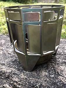 チタン製アルコールバーナー用燃焼促進器