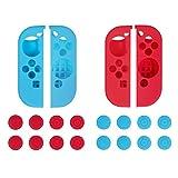 (ディヤード)Deyard Nintendo Switch シリコン ケース 任天堂スイッチ ソフトケース 高品質 超耐磨 ニンテンドー スイッチ保護ケース 着脱簡単(2色セット)
