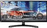 LG モニター ディスプレイ 34UM68-P 34インチ/21:9 ウルトラワイド/IPS 非光沢/HDMI×2、DisplayPort/スピーカー内蔵/高さ調節対応