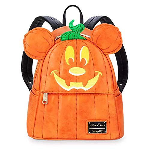 Loungefly ディズニー ミッキーマウス パンプキン かぼちゃ バックパック リュック 【並行輸入品】 グッズ 雑貨 かばん ラウンジフライ