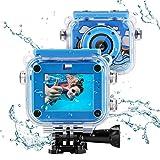 TAOCOCO 子供用 デジタルカメラ トイカメラ キッズカメラ500万画素IP68 30M防水カメラ 子供プレゼント 2.0インチ4倍ズーム1080P録画 子供カメラ 子供ギフト タイマー撮影 連写 USB充電 日本語説明書付き