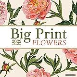 Big Print Flowers 2022 Wall Calendar