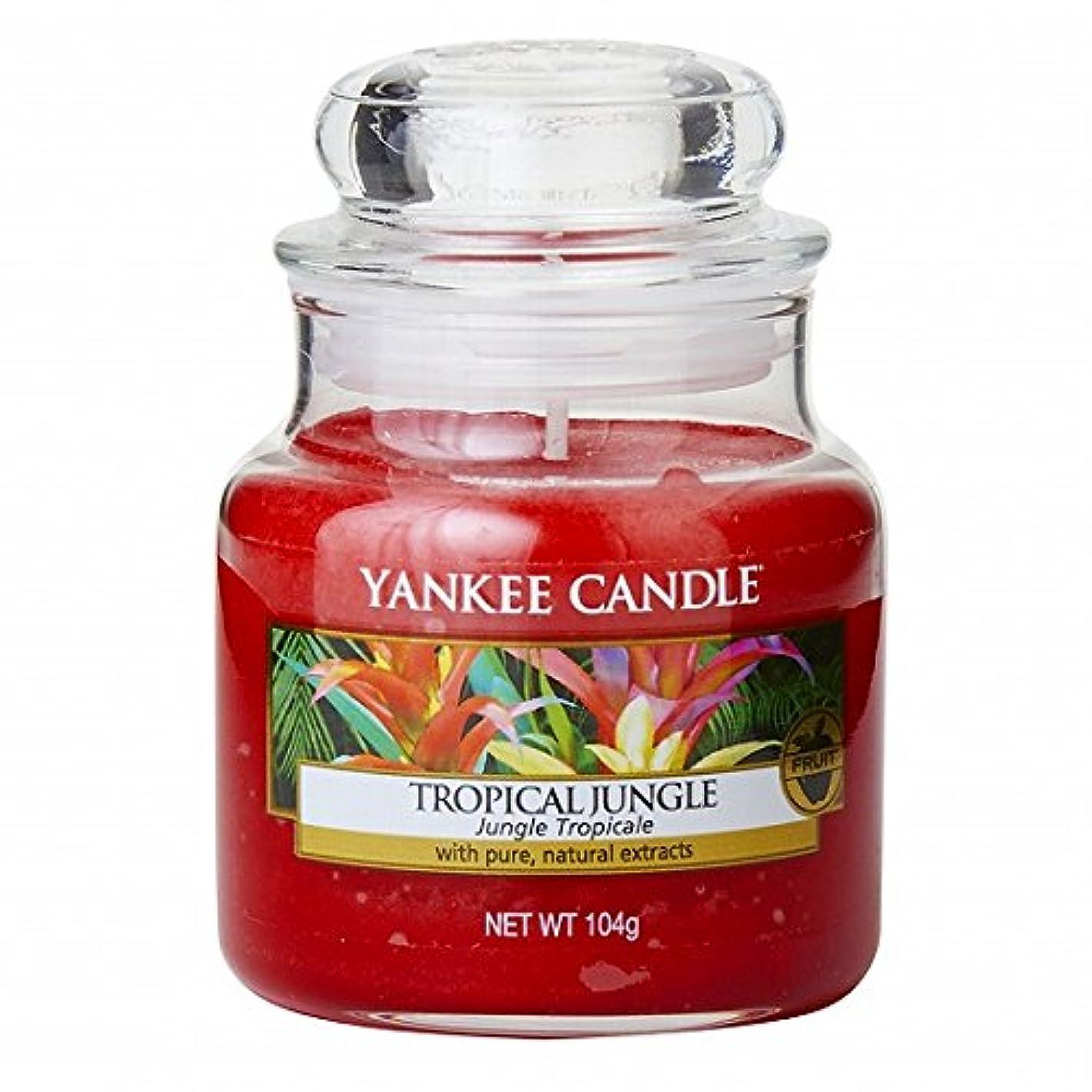 ロープ不和壁ヤンキーキャンドル(YANKEE CANDLE) YANKEE CANDLEジャーS 「 トロピカルジャングル 」K00305318