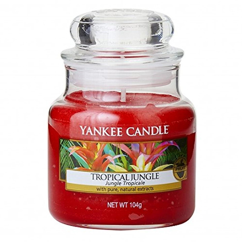 航空便時折くヤンキーキャンドル(YANKEE CANDLE) YANKEE CANDLEジャーS 「 トロピカルジャングル 」K00305318