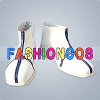 ★サイズ選択可★男性27CM UA0990 死神BLEACHブリーチ 石田雨竜 コスプレ靴 ブーツ