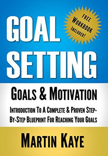 amazon goal setting workbook included goals motivation