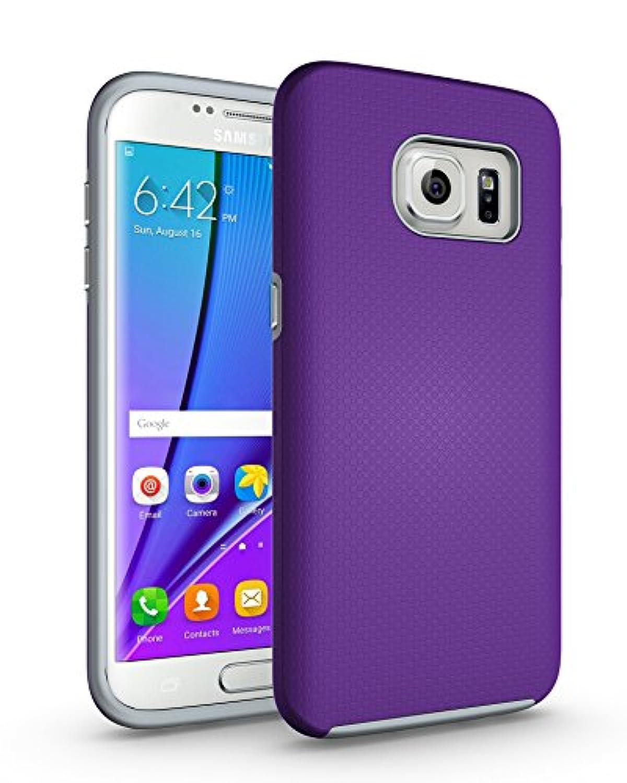 Galaxy s7 Edgeケース, xrpowデュアルDefender保護s7エッジCove Rugged衝撃ドロップProof Impact Resist保護ケースfor Samsung Galaxy s7 Edge S7 Edge Impact Shock-XR-PU