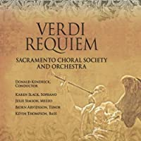 Verdi Requiem by Sacramento Choral Society & Orchestra