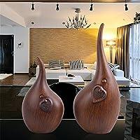北欧の抽象的な彫刻家の柔らかい装飾の装飾品のリビングルームテレビキャビネットの工芸品の家具パーソナライズされた,Wood