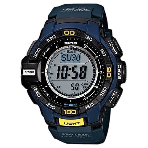 [カシオ]CASIO 腕時計 PROTREK プロトレック PRG-270-2 ネイビー メンズ [逆輸入モデル]