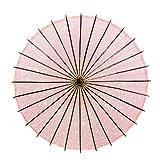 POYA 和傘 舞踊傘 桜渦 防水加工 五色展開(桜)