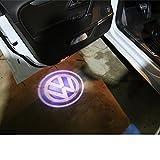Volkswagen LEDロゴ発光 ドアウェルカムライト LED投影 ゴーストシャドウ フォルクスワーゲン カーテシランプ K001-80 (¥ 2,088)