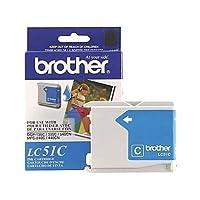 Brother lc51C OEMインク–DCP 130330C 350C FAX 18601960C 2480C 2580C MFC 230C 240C 440CN 465CN 665CW 685CW 845CW 885CW 3360C 5460CN 5860CNシアンインク( 400Yield ) OEM