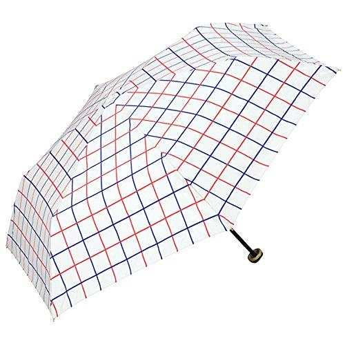 wpc-mini-801-209 50cm オフ (ワールドパーティー) W.P.C 日傘 折りたたみ傘 雨具 チェック ダブルペイン wpc-mini-801-209