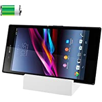 電話ケース Sony Xperia Z Ultra/XL39h用デスクトップ充電ドック