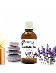 Lavender Oil (Lavandula Officinalis) Essential 10 ml or 0.33 Fl Oz by Blooming Alley